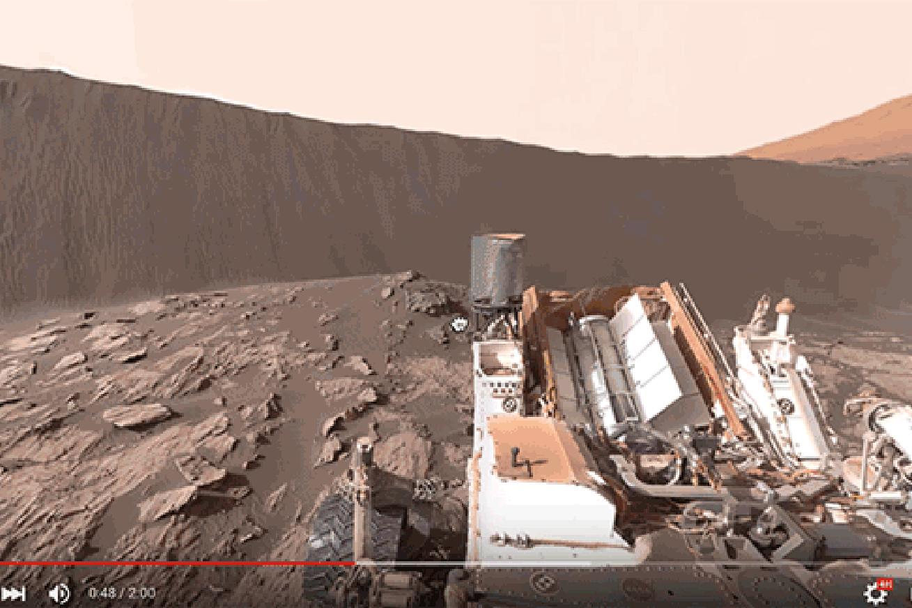 Take a Virtual Tour of Mars With This New 360-Degree Image From NASA