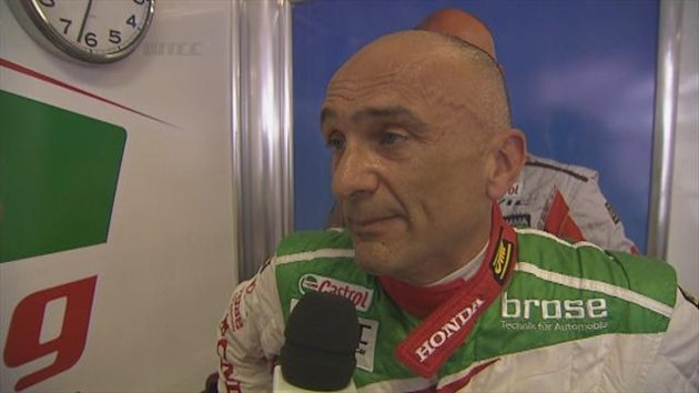 Hungaroring, Tarquini fastest in FP 1