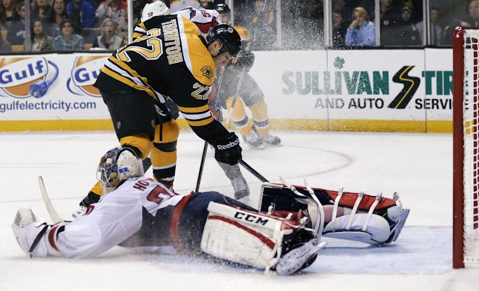 Kelly's OT goal lifts Bruins over Capitals 3-2