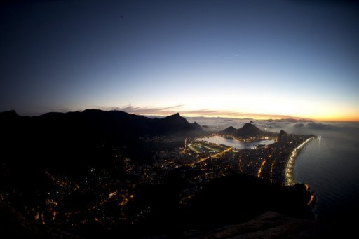 &lt;p&gt;This file photo shows a general view of Rio de Janeiro at sunrise, pictured in June. Brazil&#39;s central bank slashed its interest rate for the 10th time since August last year, to a record low of 7.25 percent, in a bid to stimulate the sluggish economy.&lt;/p&gt;