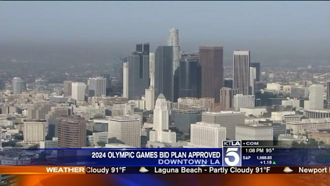 L.A. Moves Forward With Plan to Host 2024 Olympics