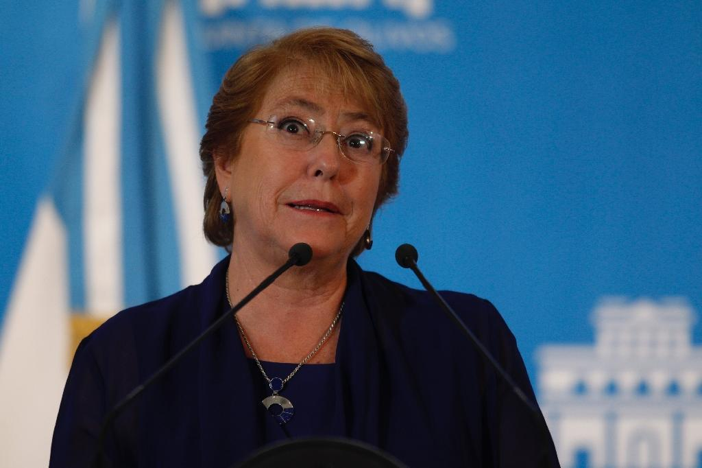 Chile's Bachelet hopes Trump will 'respect' Latin America