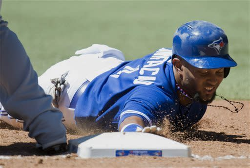 DeRosa hits 3-run HR, Blue Jays beat Mariners 10-2