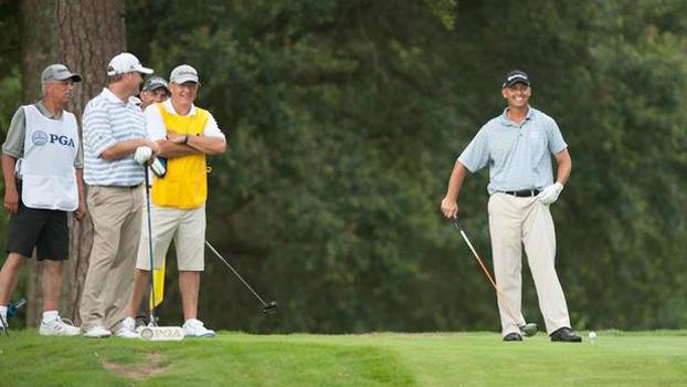 Broce leads Block by three shots after third round