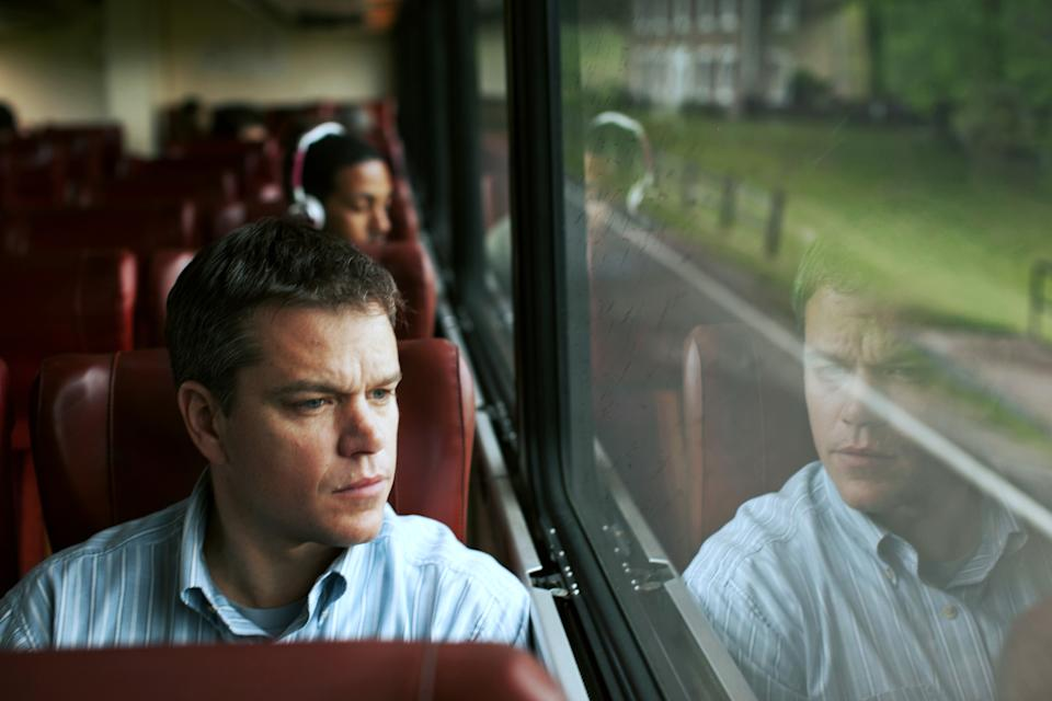 "This undated publicity film image provided by Focus Features shows Matt Damon starring as Steve Butler in Gus Van Sant's contemporary drama, ""Promised Land,"" a Focus Features release. (AP Photo/Focus Features, Sam Jones)"