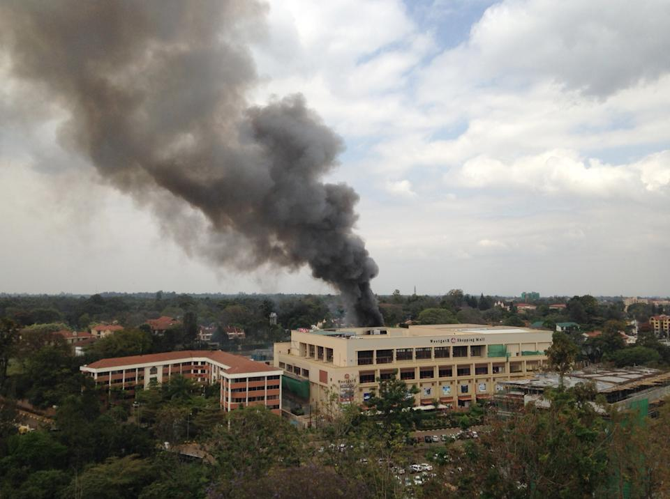 4 blasts at Kenya mall as 2 terrorists killed