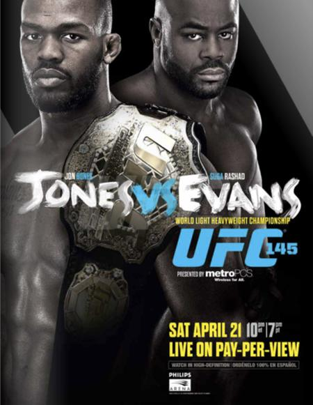 All UFC 145 Fighters on Medical Suspension List