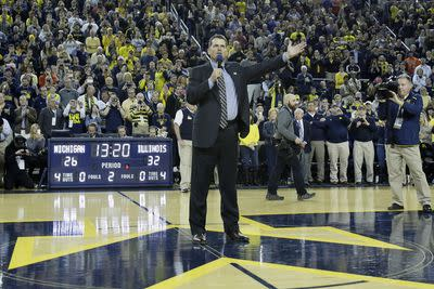 Jim Harbaugh finishes fourth in Michigan student body president race, vows to do better