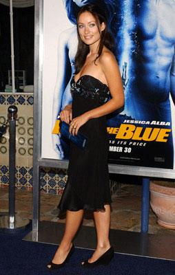 Premiere: Olivia Wilde at the Westwood premiere of MGM/Columbia Pictures' Into the Blue - 9/21/2005