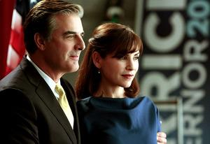Chris Noth and Julianna Margulies | Photo Credits: Giovanni Rufino/CBS
