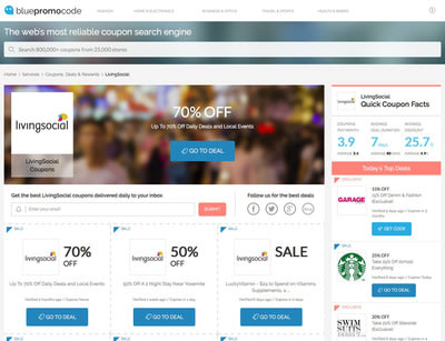 Leading promo code search engine BluePromoCode announces major site redesign