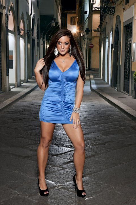 "Sammi Giancola in Italy for Season 4 of ""Jersey Shore."""