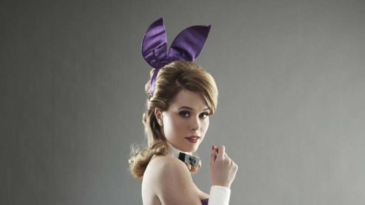 "Leah Renee stars as Alice in ""The Playboy Club."""