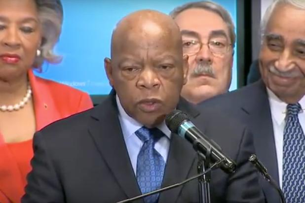 Bernie Sanders Supporters Pummel Civil Rights Hero John Lewis on Twitter (Video)