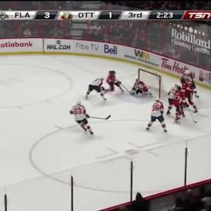 Jean-Gabriel Pageau Goal on Dan Ellis (17:39/3rd)