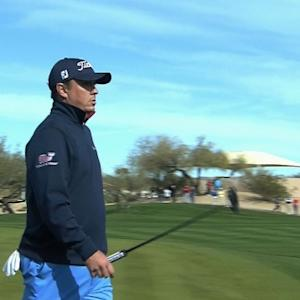 Jason Dufner's approach leads to birdie on No. 15 at Waste Management