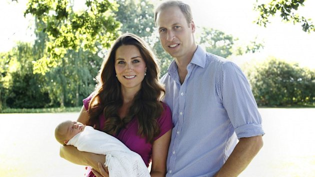 Prince William and Kate Middleton Veer From Tradition With Prince George's Godparents (ABC News)