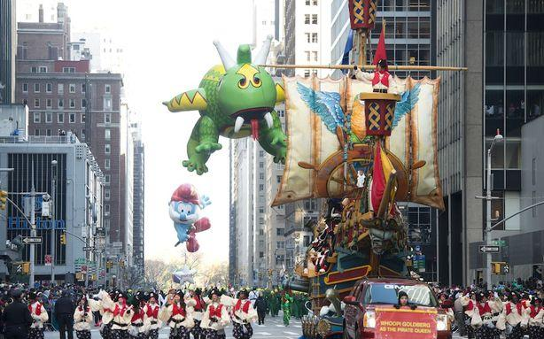 The Macy's Thanksgiving Day Parade Confetti Was Confidential