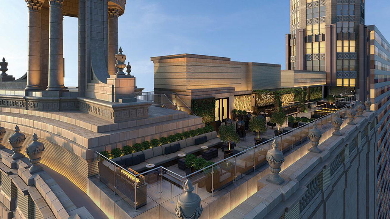 'Chicago's First Tri-Level Rooftop' Lounge Heading to Loop Hotel in Spring