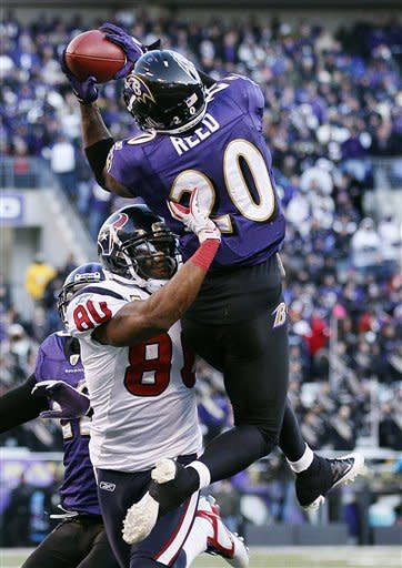 Ravens beat Texans 20-13, move into AFC title game