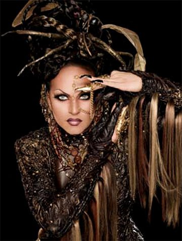 Shannel competes in RuPaul's Drag Race. 