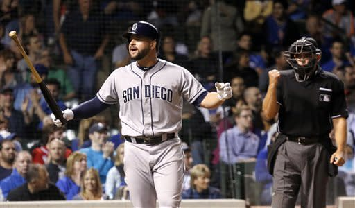 Cubs upend Padres 5-3