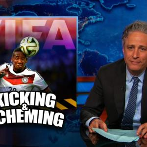 Jon Stewart Has a Ball with FIFA Scandal