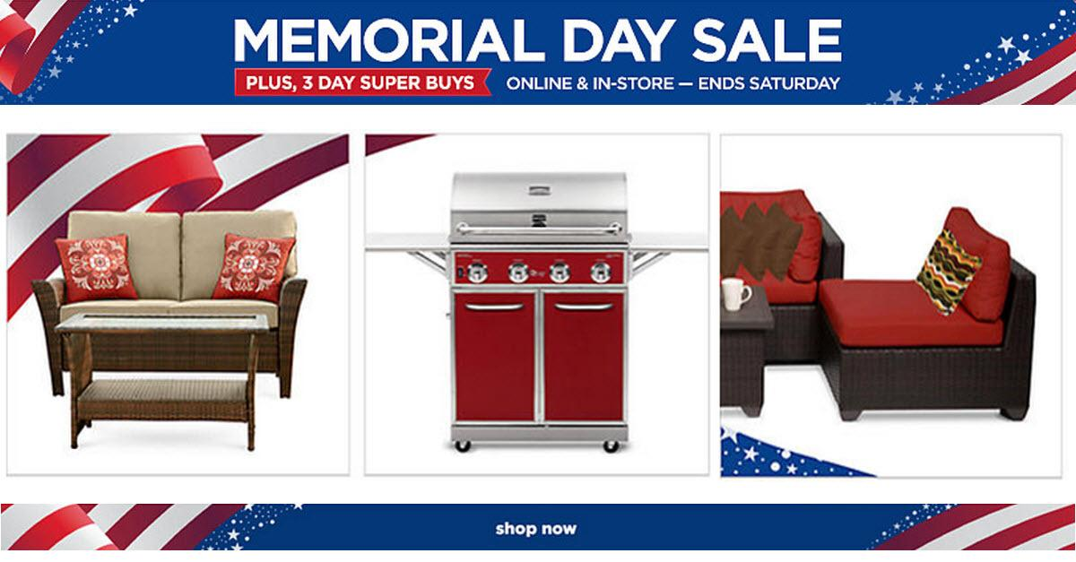 Sears® Memorial Day Outdoor Living Sale