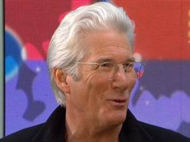 Richard Gere Heard About Globe Nod in 'grass Hut'