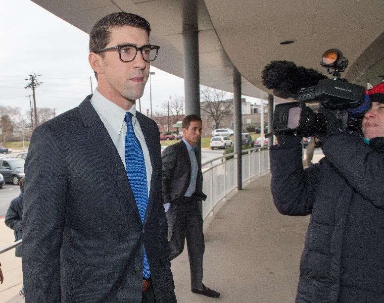 Phelps gets suspended sentence in drunk driving case