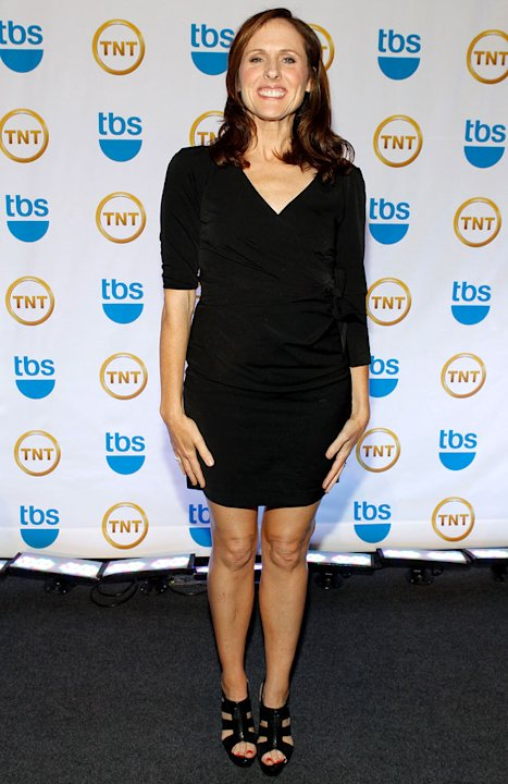 Molly Shannon attends the TEN Upfront presentation at Hammerstein Ballroom on May 19, 2010 in New York City. 