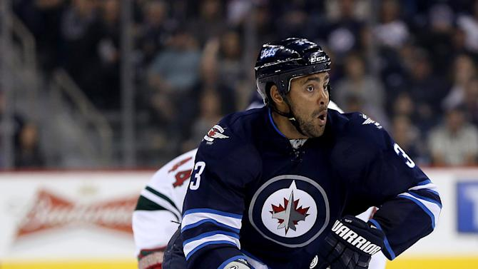 Byfuglien leads Jets to 2-1 win over Wild
