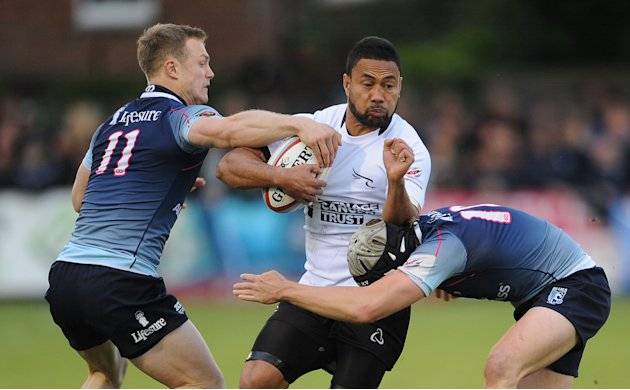 Rugby Union - Championship Final - Play Off - First Leg - Bedford Blues v Newcastle Falcons - Goldington Road