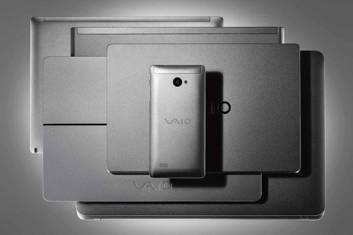 This is the first Windows 10 smartphone from Vaio