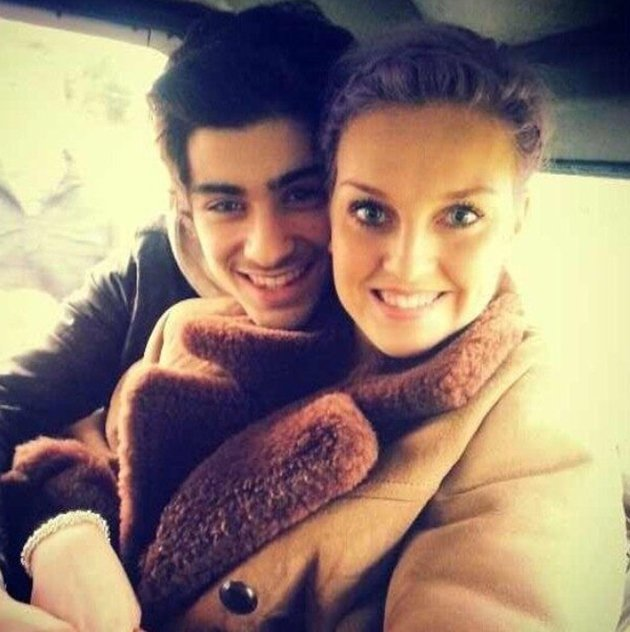 Zayn Malik and Perrie Edwards