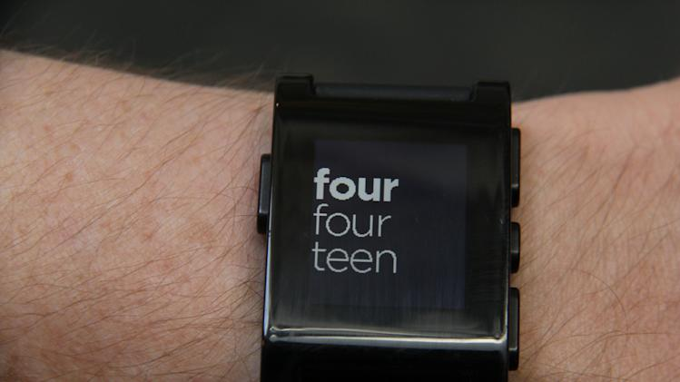 Review: Pebble watch is a great way to be bugged
