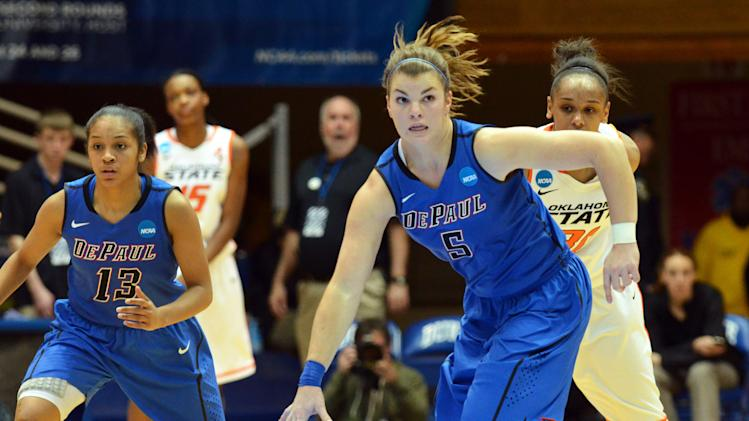 NCAA Womens Basketball: NCAA Tournament-DePaul vs Oklahoma State