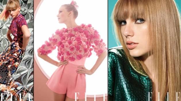 Taylor Swift in March ELLE 2013 -- ELLE Magazine