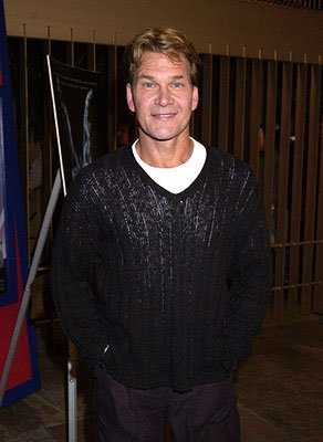 Patrick Swayze at the Hollywood premiere of Donnie Darko