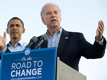 @BarackObama Tweets Backing for @VP @JoeBiden