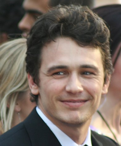 James Franco arrives at the 81st Annual Academy Awards.