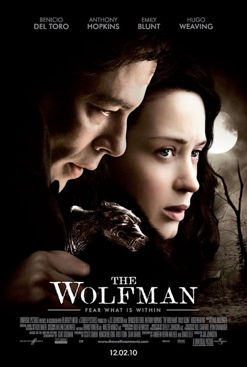The Wolfman Universal Pictures 2010 Production Photos Poster