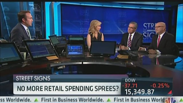 No More Retail Spending Spree?