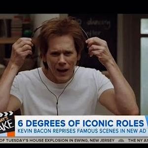 Kevin Bacon Reprises Famous Movie Roles