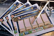 A Euro Millions lottery grid is shown in 2011. A ticket-holder in Britain has won a record 190 million euros (over $230 million) in the Euro Millions lottery