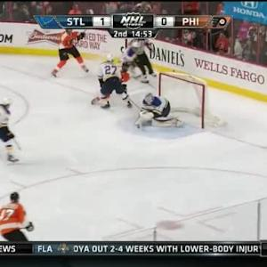 Steve Mason Save on Alex Pietrangelo (05:00/2nd)