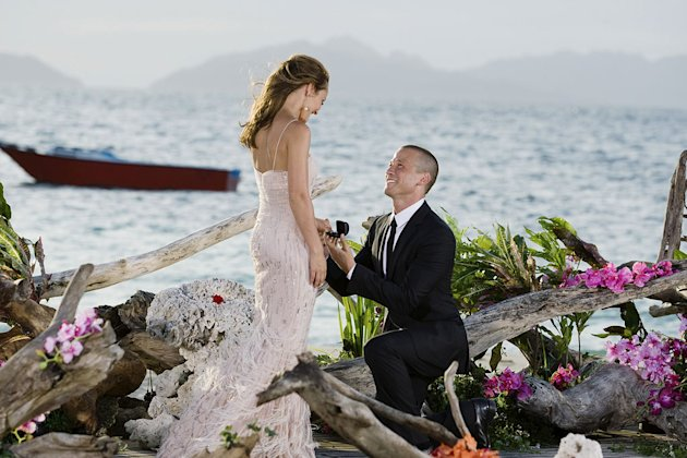 J.P. proposes to Ashley on the season finale of &quot;The Bachelorette.&quot; 