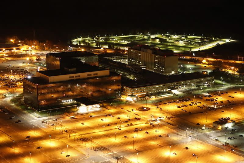 A man has been detained for firing bullets at NSA headquarters