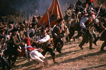 A scene from Columbia Pictures' The Patriot