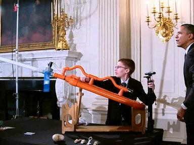 Raw Video: Marshmallow Launch at the White House Science Fair